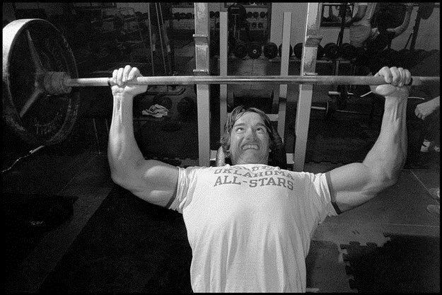 Awesome Vintage Photos Of Arnold Schwarzenegger 005